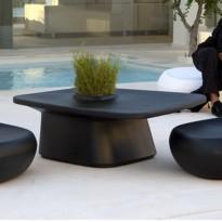 TABLE BASSE MOMA, Noir de VONDOM