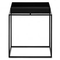 TABLE BASSE TRAY, 30 x 30 cm, Noir de HAY