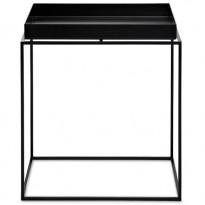 TABLE BASSE TRAY, 40 x 40 cm, Noir de HAY