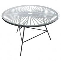 TABLE BASSE ZIPOLITE NOIR de BOQA
