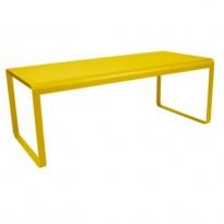 TABLE BELLEVIE, 196 x 90, Miel de FERMOB