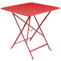 TABLE PLIANTE BISTRO 71 X 71CM COQUELICOT de FERMOB