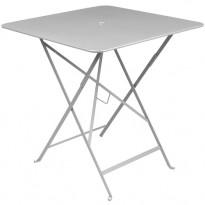 TABLE PLIANTE BISTRO 71 X 71CM GRIS MÉTAL de FERMOB