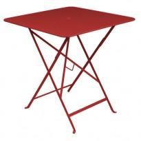 TABLE PLIANTE BISTRO 57 X 57CM PIMENT de FERMOB