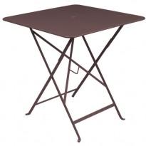 TABLE PLIANTE BISTRO 57 X 57CM ROUILLE de FERMOB