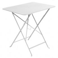 TABLE PLIANTE BISTRO 77 X 57CM BLANC de FERMOB