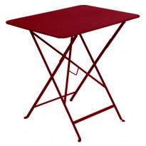 TABLE PLIANTE BISTRO 77 X 57CM PIMENT de FERMOB