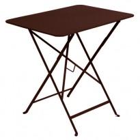 TABLE PLIANTE BISTRO 77 X 57CM ROUILLE de FERMOB