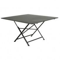 TABLE PLIANTE CARGO 130 X 130 CM, Romarin de FERMOB