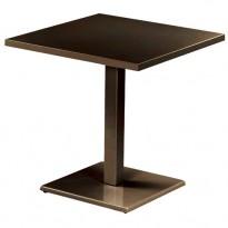 TABLE ROUND, 70 x 70 cm, Marron d
