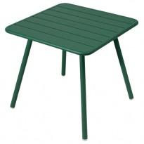 TABLE CARRÉE 4 PIEDS LUXEMBOURG 80 x 80 cm, Cèdre de FERMOB