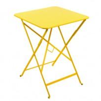 TABLE PLIANTE BISTRO 57 X 57CM MIEL de FERMOB