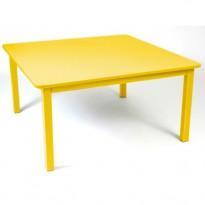 TABLE CRAFT 143X143CM MIEL de FERMOB