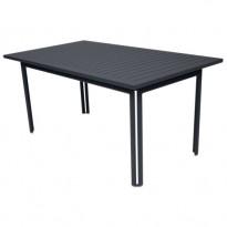 TABLE 160 X 80 COSTA Carbone de FERMOB