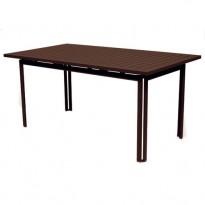 TABLE 160 X 80 COSTA Rouille de FERMOB