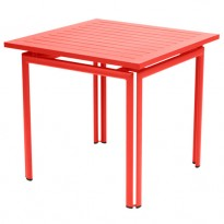 TABLE COSTA 80X80CM CAPUCINE de FERMOB