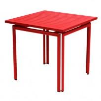 TABLE COSTA 80X80CM COQUELICOT de FERMOB