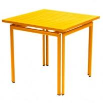 TABLE COSTA 80X80CM MIEL de FERMOB