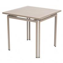 TABLE COSTA 80X80CM MUSCADE de FERMOB