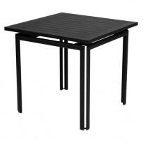 TABLE COSTA 80X80CM RÉGLISSE de FERMOB