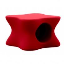 TABLE BASSE DOUX, Rouge de VONDOM