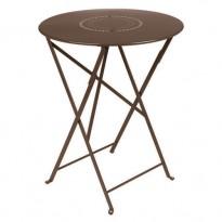 TABLE FLOREAL 60CM ROUILLE de FERMOB