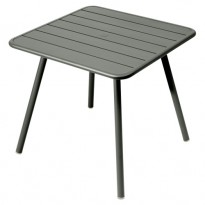TABLE CARRÉE 4 PIEDS LUXEMBOURG 80 x 80 cm, Romarin de FERMOB