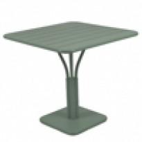 TABLE CARRÉE LUXEMBOURG 80x80 cm, Romarin de FERMOB