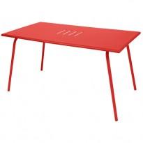 TABLE MONCEAU 146X80X74 COQUELICOT de FERMOB