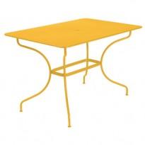 TABLE OPERA 117X77CM MIEL de FERMOB