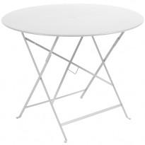 TABLE PLIANTE BISTRO 96CM BLANC de FERMOB