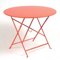 TABLE PLIANTE BISTRO 96CM CAPUCINE de FERMOB