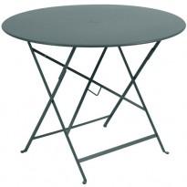TABLE PLIANTE BISTRO 96CM GRIS ORAGE de FERMOB