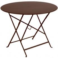 TABLE PLIANTE BISTRO 96CM ROUILLE de FERMOB