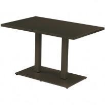 TABLE ROUND,180 x 80 cm, Marron d