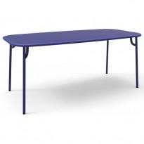 TABLE WEEK END, 180 x 85, Bleu de PETITE FRITURE