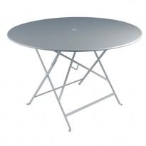 TABLE PLIANTE BISTRO 117CM GRIS ORAGE de FERMOB
