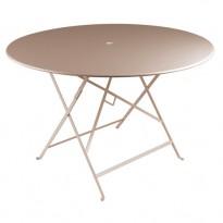 TABLE PLIANTE BISTRO 117CM MUSCADE de FERMOB