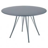 TABLE RENDEZ VOUS GRIS ORAGE de FERMOB