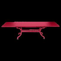 TABLE A ALLONGES ROMANE ROSE PRALINE de FERMOB