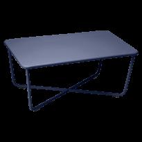 CROISETTE TABLE BASSE BLEU ABYSSE de FERMOB