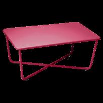 CROISETTE TABLE BASSE ROSE PRALINE de FERMOB