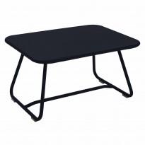 TABLE BASSE SIXTIES, Carbone de FERMOB