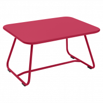 TABLE BASSE SIXTIES, Rose praline de FERMOB
