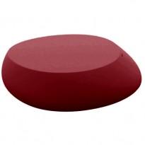 TABLE BASSE STONE, Rouge de VONDOM