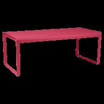 TABLE BELLEVIE, 196 x 90, Rose praline de FERMOB
