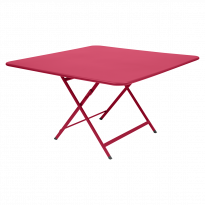 TABLE PLIANTE CARACTERE ROSE PRALINE de FERMOB