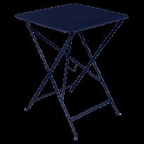 TABLE PLIANTE BISTRO 57 X 57CM BLEU ABYSSE de FERMOB