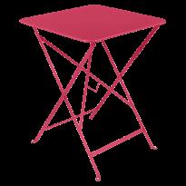 TABLE PLIANTE BISTRO 57 X 57CM ROSE PRALINE de FERMOB