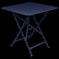TABLE PLIANTE BISTRO 71 X 71CM BLEU ABYSSE de FERMOB
